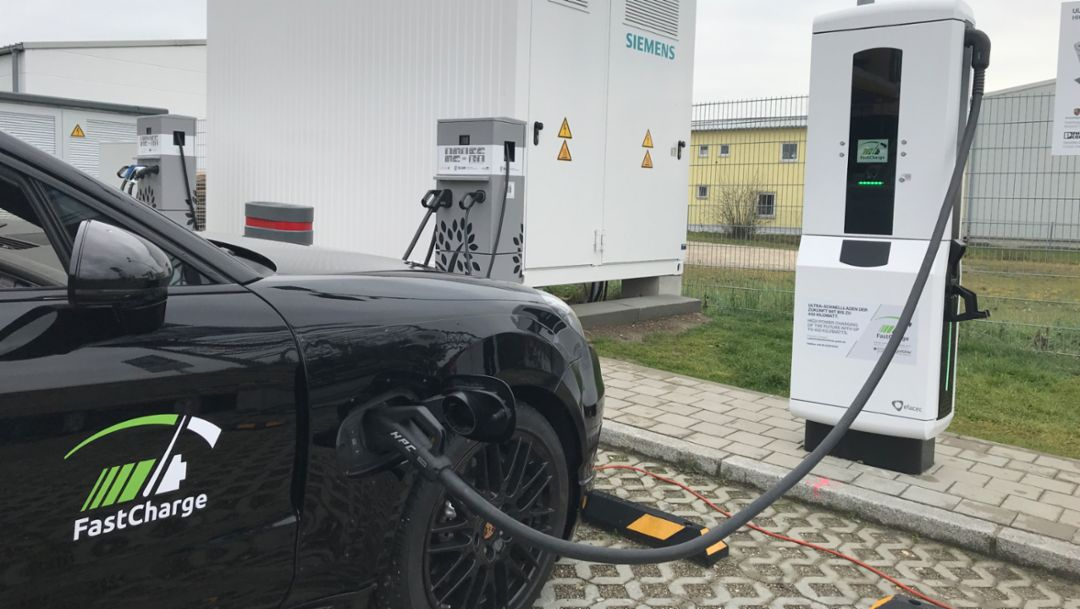 Ultra-high-power charging technology for the electric vehicle of the future