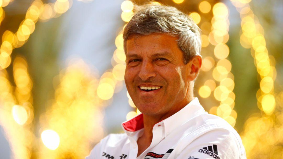 Fritz Enzinger, Vice President LMP1, Bahrain, 2015, Porsche AG