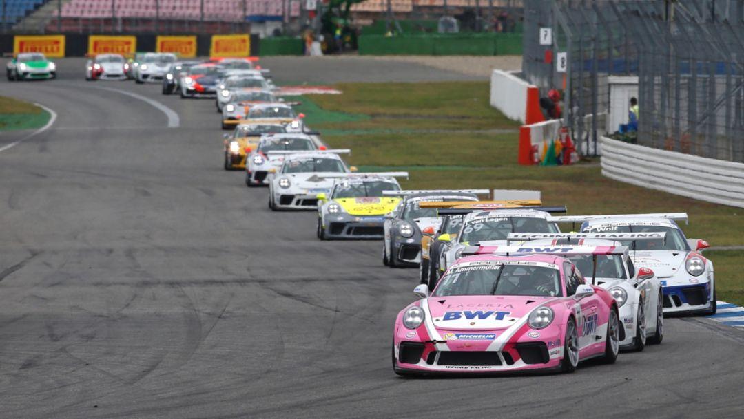 911 GT3 Cup, Porsche Carrera Cup Deutschland, 14. Lauf, Hockenheim, 2018, Porsche AG