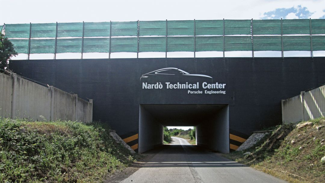 Nardò Technical Center, 2012, Porsche AG