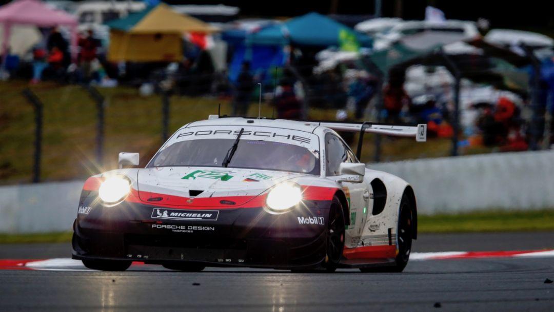 911 RSR, Rennen, FIA WEC, Fuji, 2018, Porsche AG