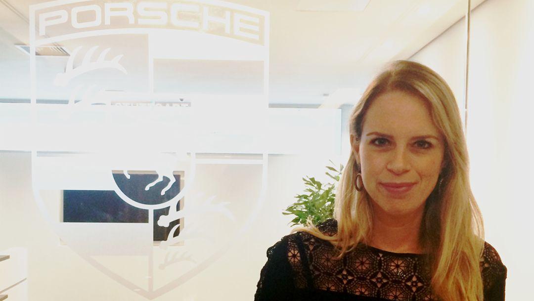 Mariana Roméro, PR Manager Porsche Brasil