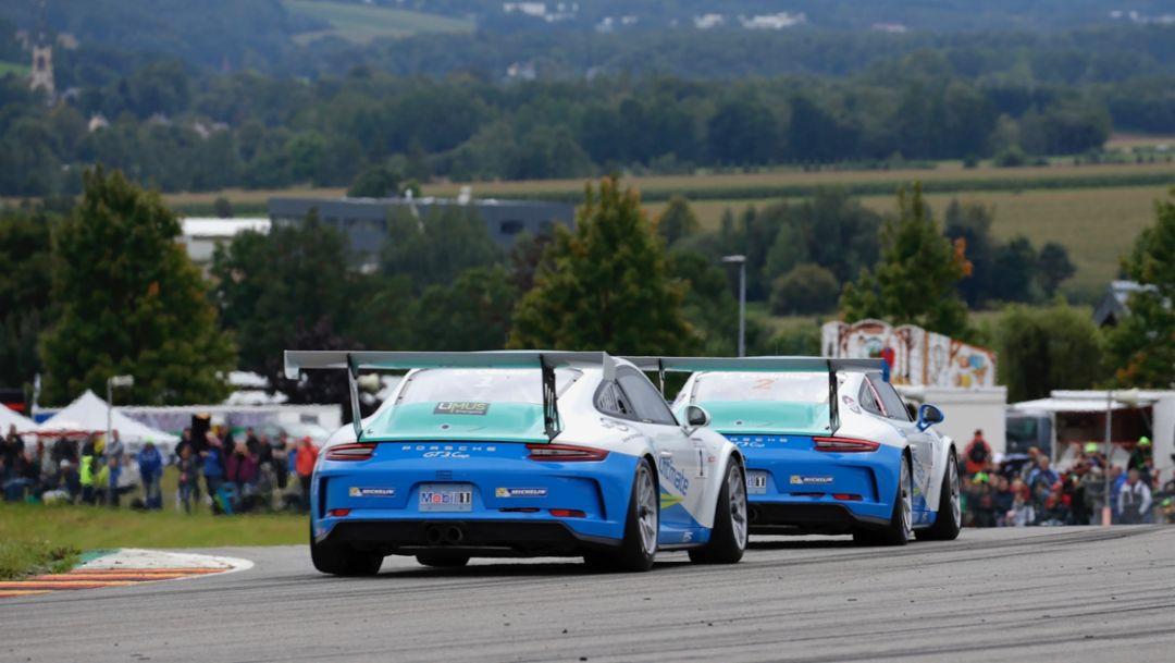 911 GT3 Cup, Porsche Carrera Cup Deutschland, Sachsenring, 2017, Porsche AG