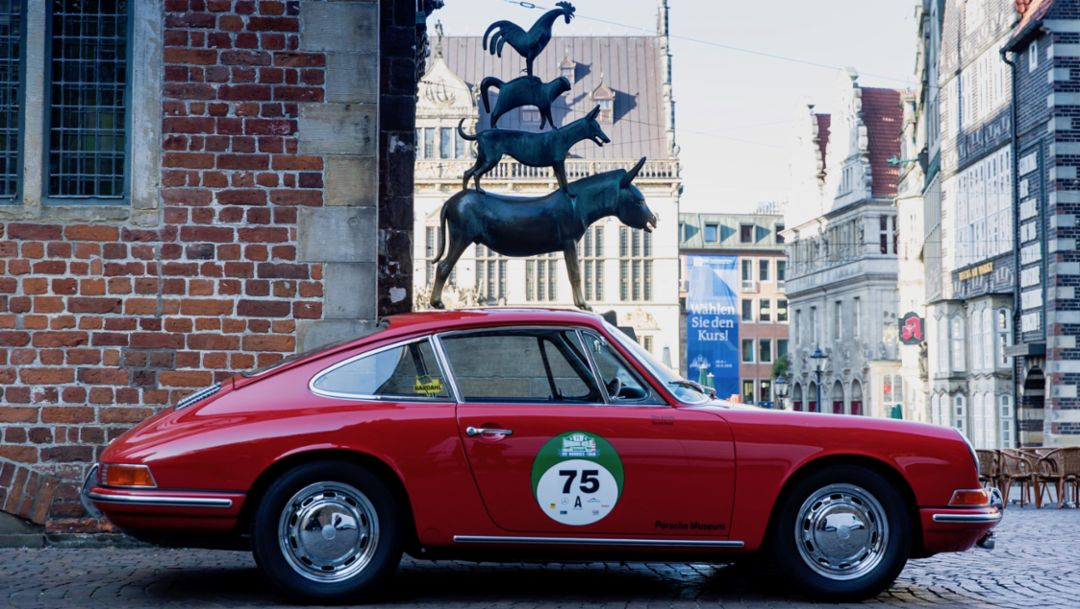 First rally for Porsche 911 No. 57
