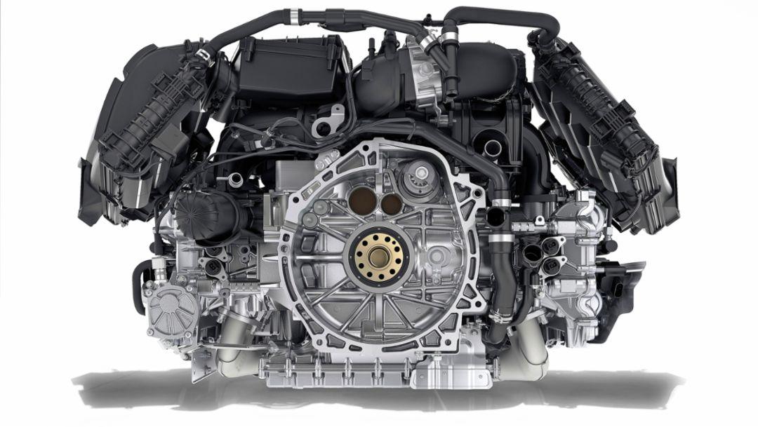 Porsche 718 Boxster, four-cylinder engine, 2016, Porsche AG