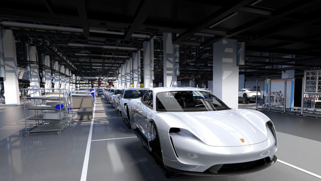 С выпуском Taycan компания Porsche открывает эпоху электромобильности