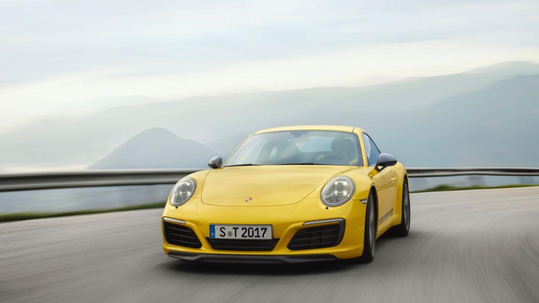 Чем меньше, тем лучше – новый Porsche 911 Carrera T