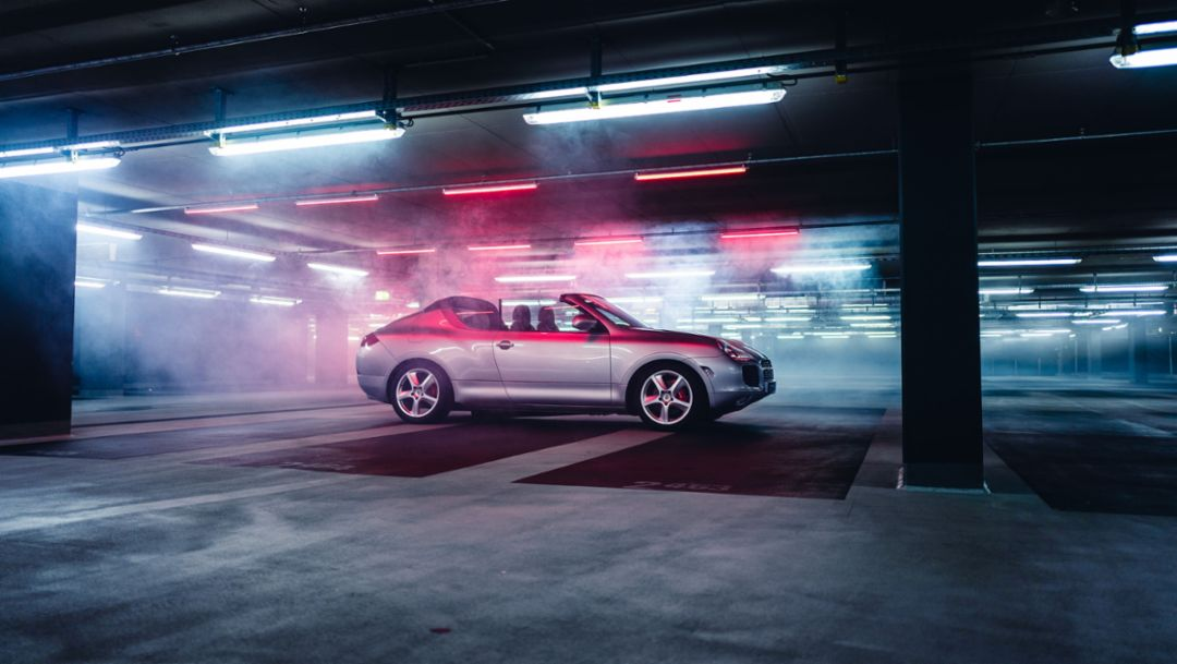 Cayenne Cabrio, прототип, 2019, Porsche AG
