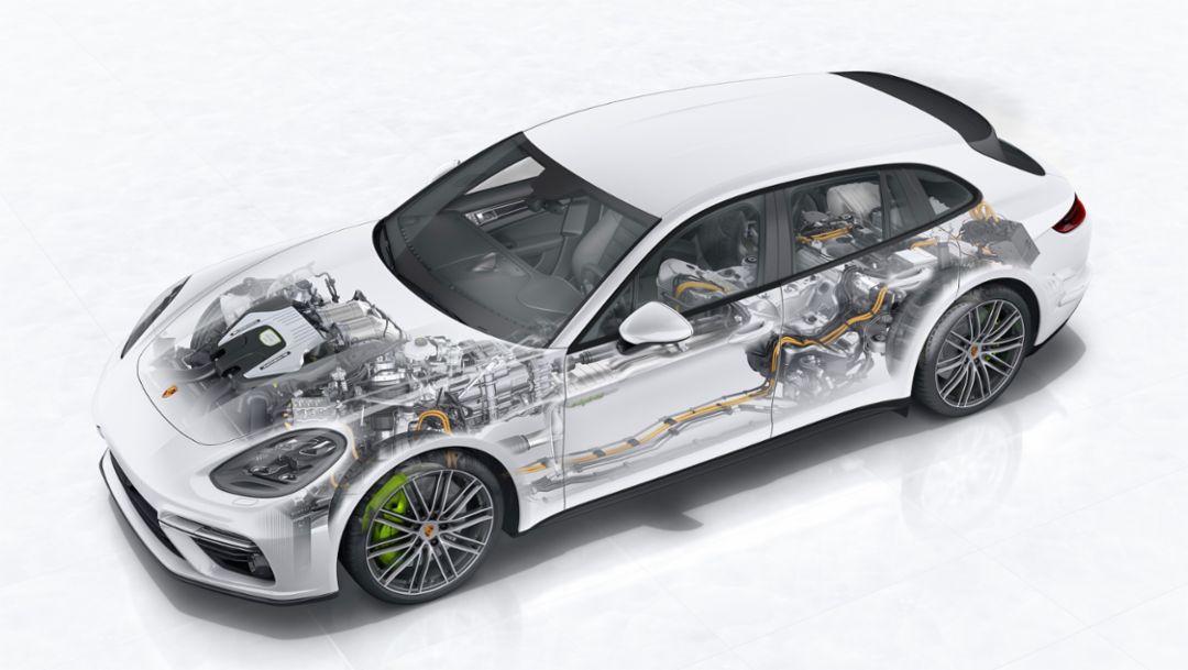 Panamera Turbo S E-Hybrid Sport Turismo, 2017, Porsche AG