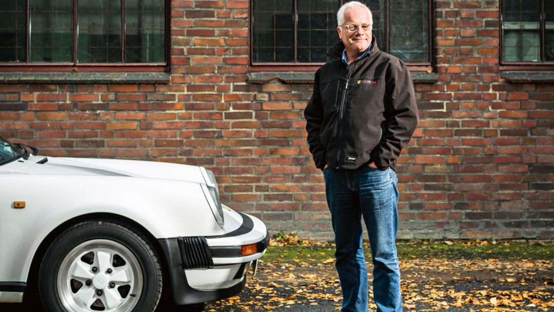 Boris Jankiewicz, Vizepräsident, Porsche Club Westfalen, 911 Carrera Targa, Dortmund, 2017, Porsche AG