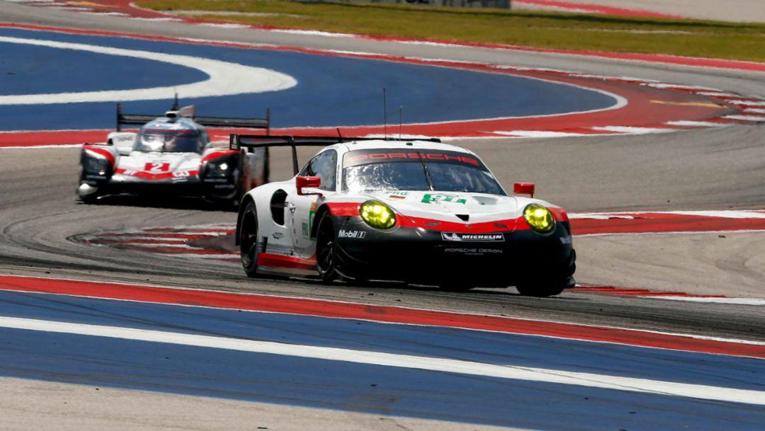 911 RSR, WEC, Rennen, Austin, 2017, Porsche AG