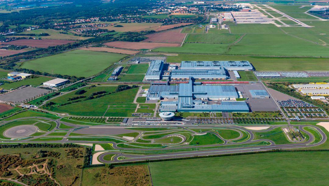 Завод в Лейпциге, 2017, Porsche AG