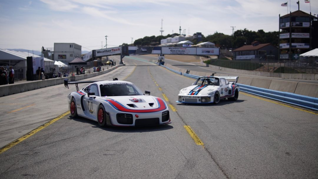 Porsche 935 (Type 991, Gen 2), Porsche 935/77, l-r, 2018, Porsche AG