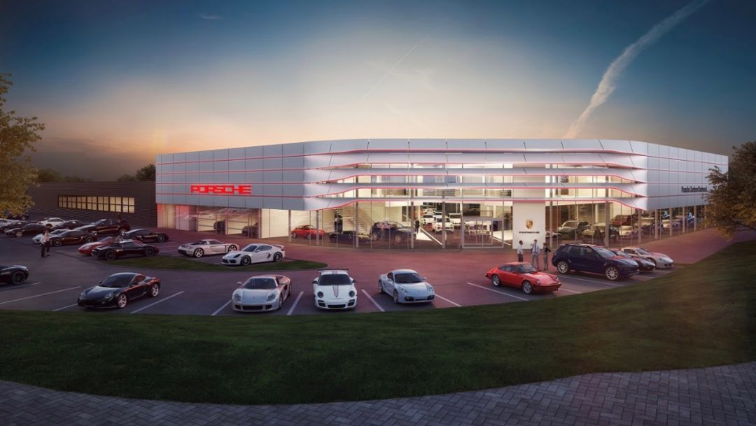 Porsche pilotiert seine neue Corporate Architecture