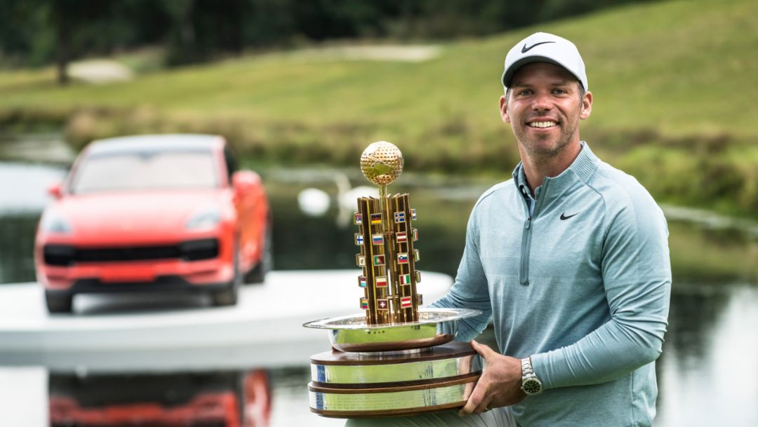 Porsche European Open: Sports car passion inspires winner Paul Casey