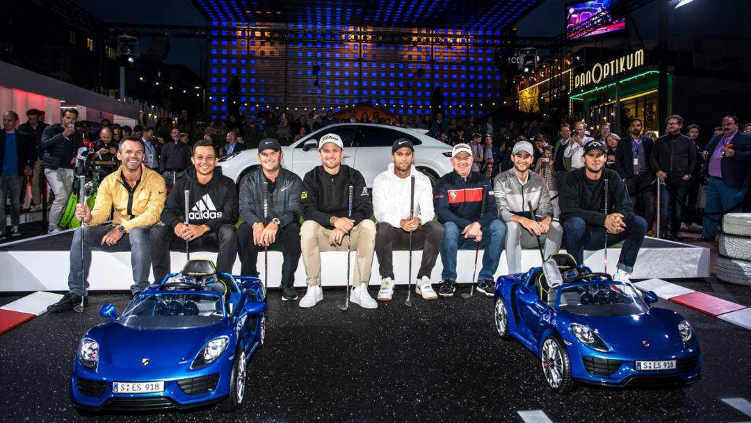 Porsche Urban Golf Challenge thrills the stars