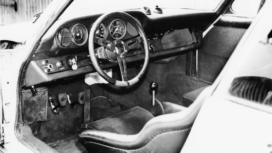 Innenraum 911 R, 1967, Porsche AG