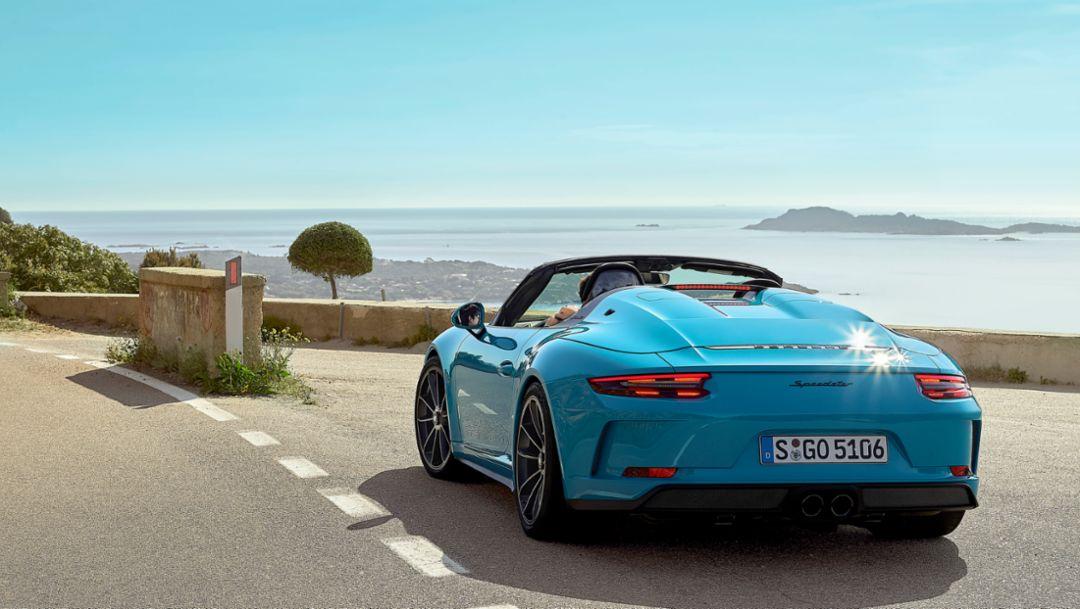"""Mit dem Porsche 911 Speedster zur """"Blauen Zone"""""""