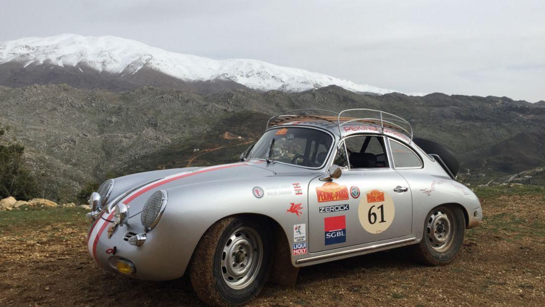 356C, Peking to Paris Motor Challenge, 2016, Porsche AG