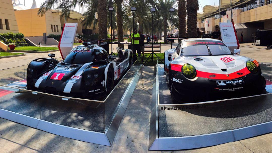 919 Hybrid, 911 RSR (2018), Bahrain, 2016, Porsche AG