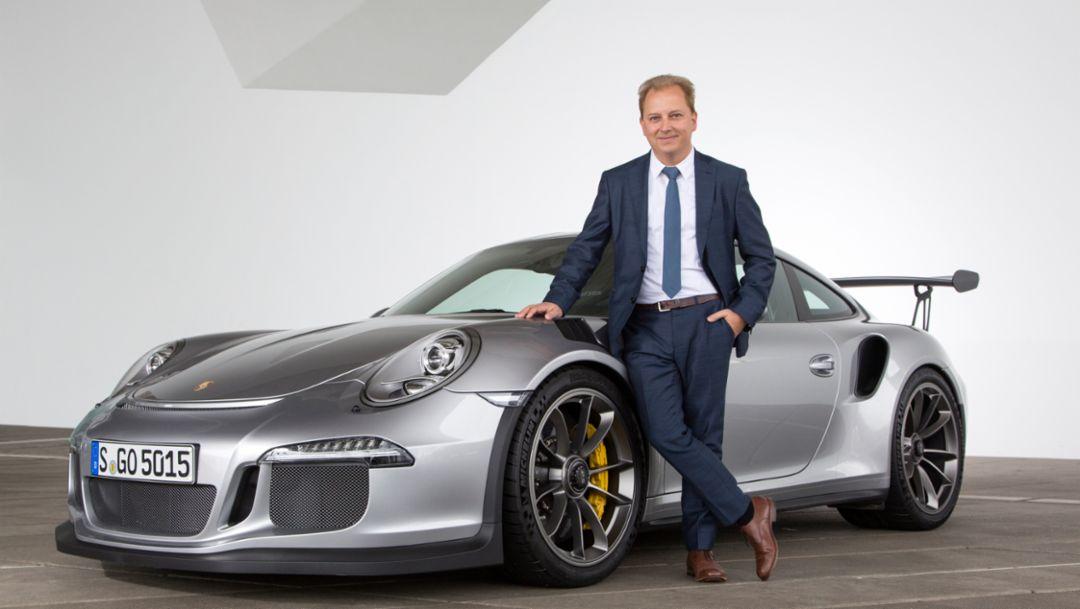 Thilo Koslowski, 911 GT3 RS, 2016, Porsche AG