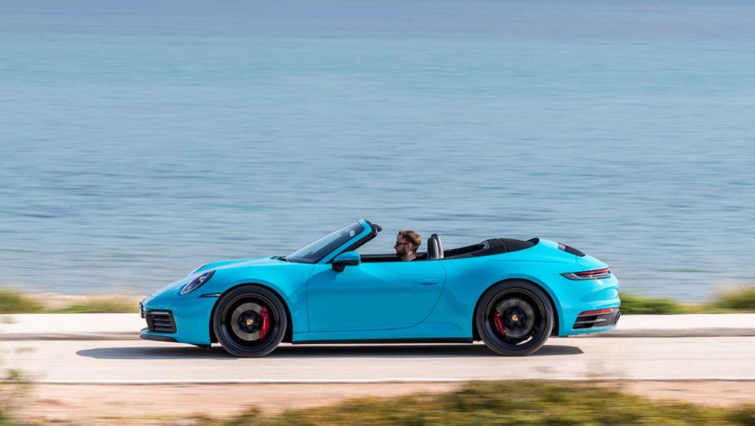 La mezcla multimaterial del nuevo Porsche 911
