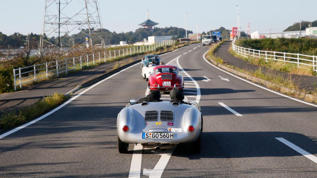 La Festa Mille Miglia, Japan, 2018, Porsche AG