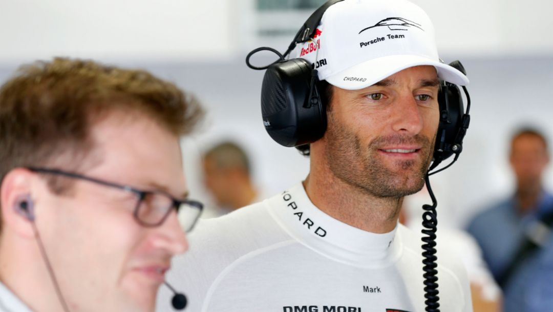 Mark Webber: Moments @Porsche_Team