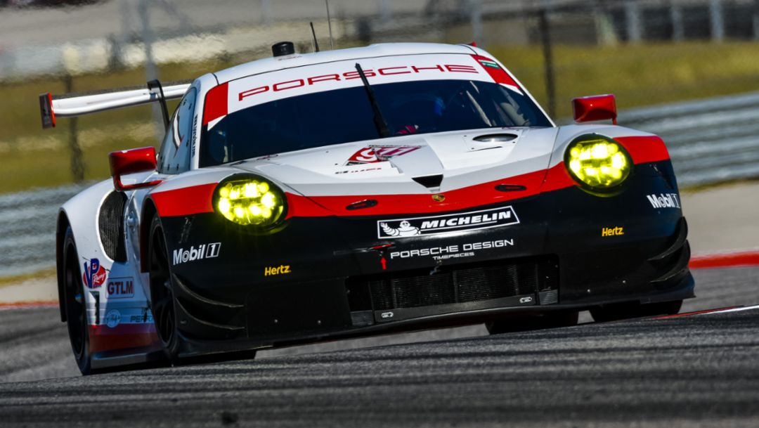 911 RSR, IMSA, Austin, Texas, 2017, Porsche AG