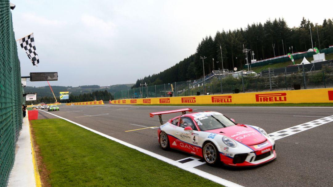 911 GT3 Cup, Porsche Mobil 1 Supercup, Spa Francorchamps, Belgium, 2017, Porsche AG
