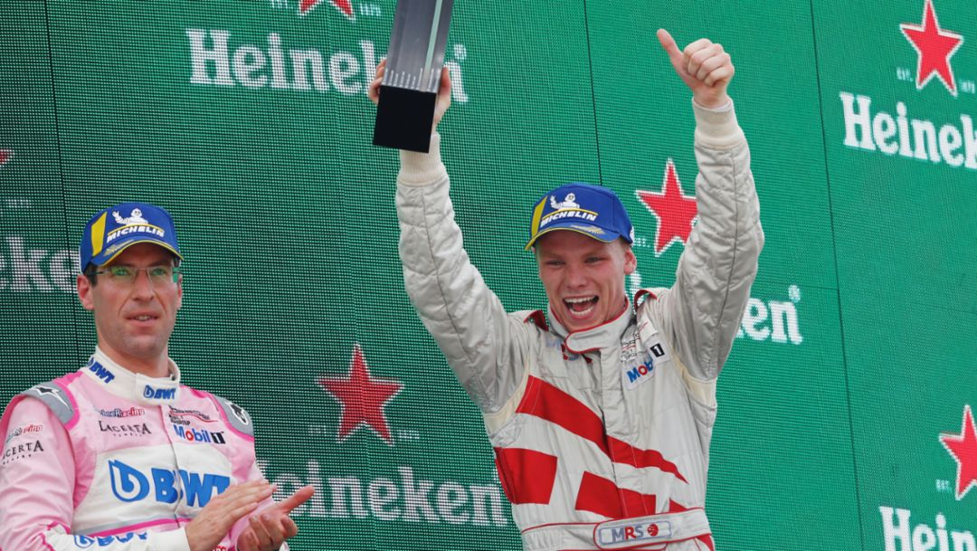 PMSC: Larry ten Voorde celebrates first Supercup victory at Monza