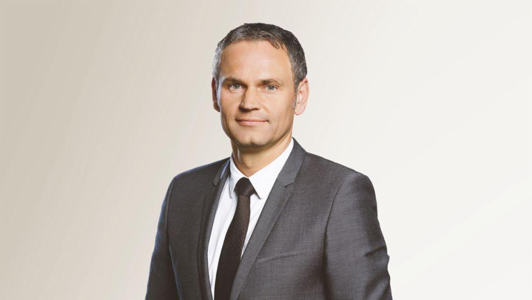 Oliver Blume, CEO, 2015, Porsche AG