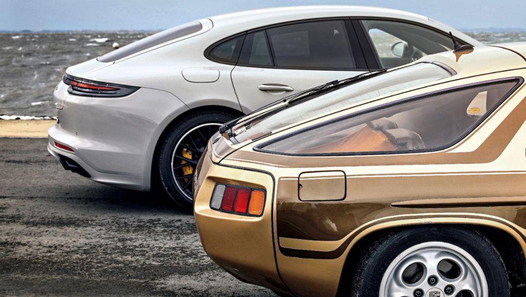 Panamera Turbo, 928, l-r, 2018, Porsche AG