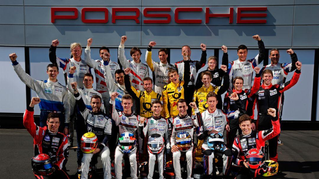 Porsche Carrera Cup Deutschland, Nürburgring 2015, Porsche AG