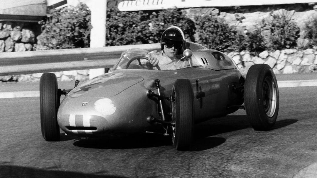 Dan Gurney, Porsche Typ 718/2, Monaco, 1961, Porsche AG