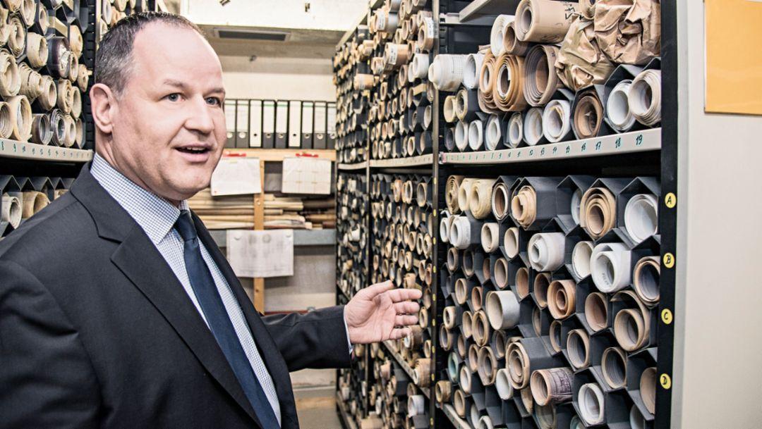 Uwe Geisel, Porsche-Konstruktionszeichnungen, Weissach, 2018, Porsche AG