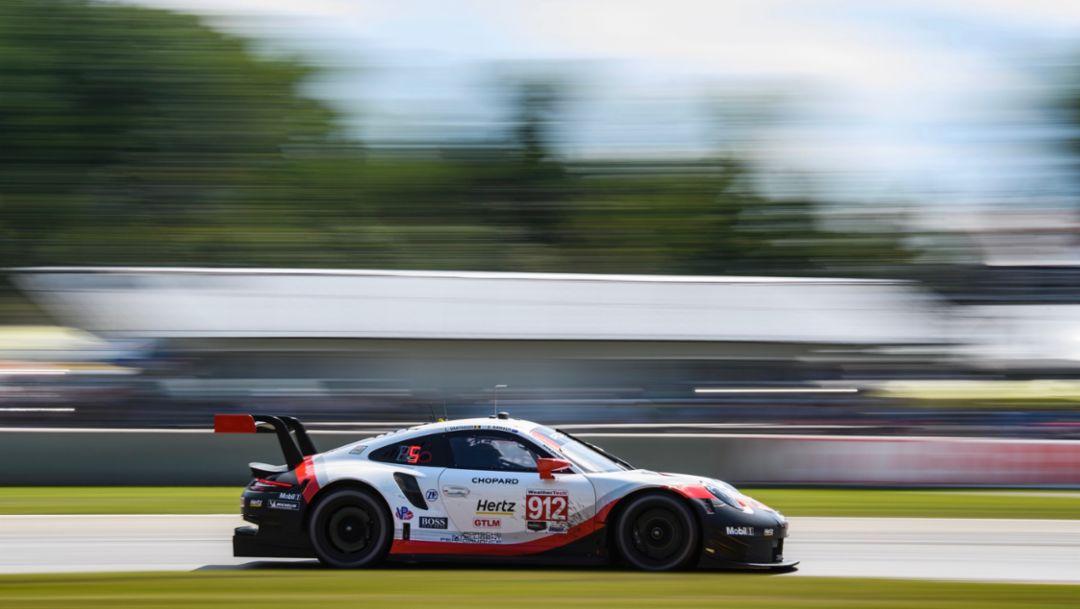 Porsche keen to extend lead at the Virginia International Raceway