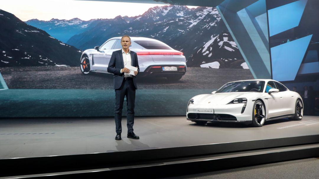 New Porsche products at the IAA 2019 in Frankfurt