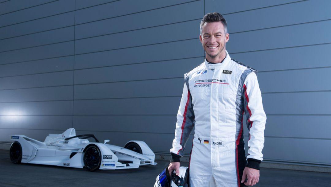 Андрэ Лоттерер назначен вторым пилотом команды Porsche в Формуле E