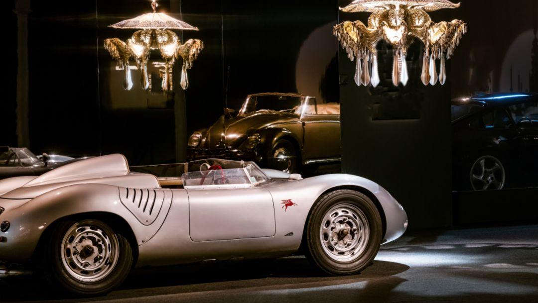 """Ausstellung """"Porsche: Meisterwerke aus der Sammlung von Régis Mathieu"""