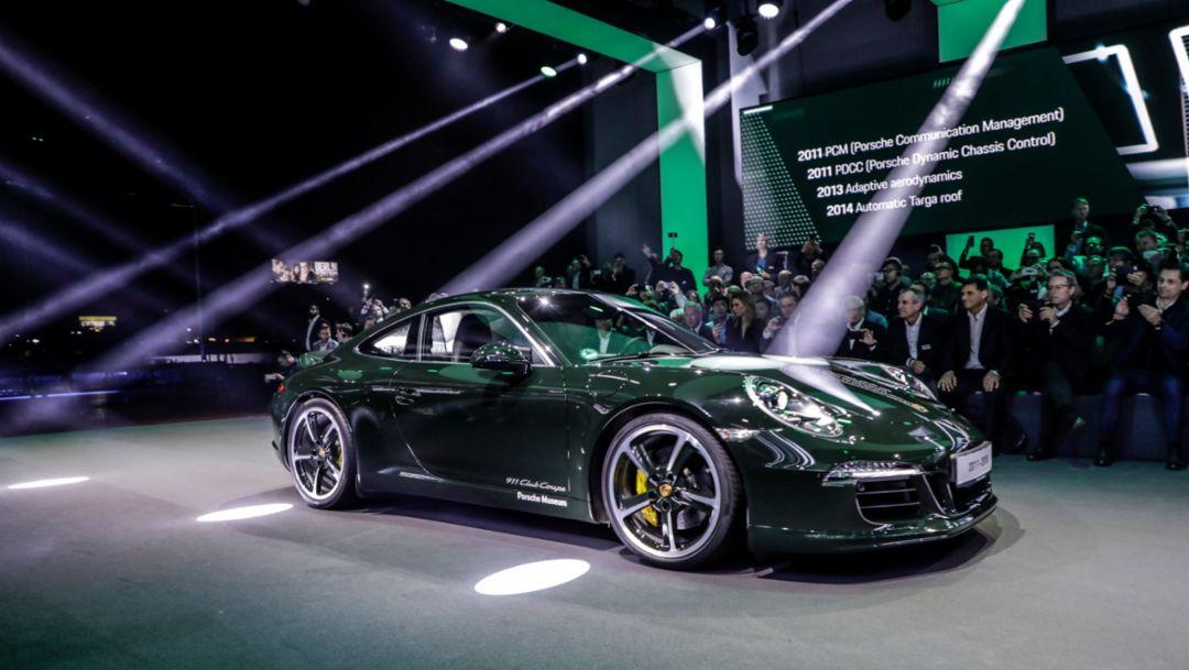 911 (991), world premiere Porsche 911, Los Angeles, 2018, Porsche AG