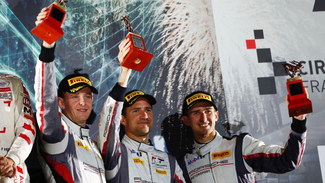 IntGTC: Porsche erreicht nach starker Aufholjagd in Japan das Podest
