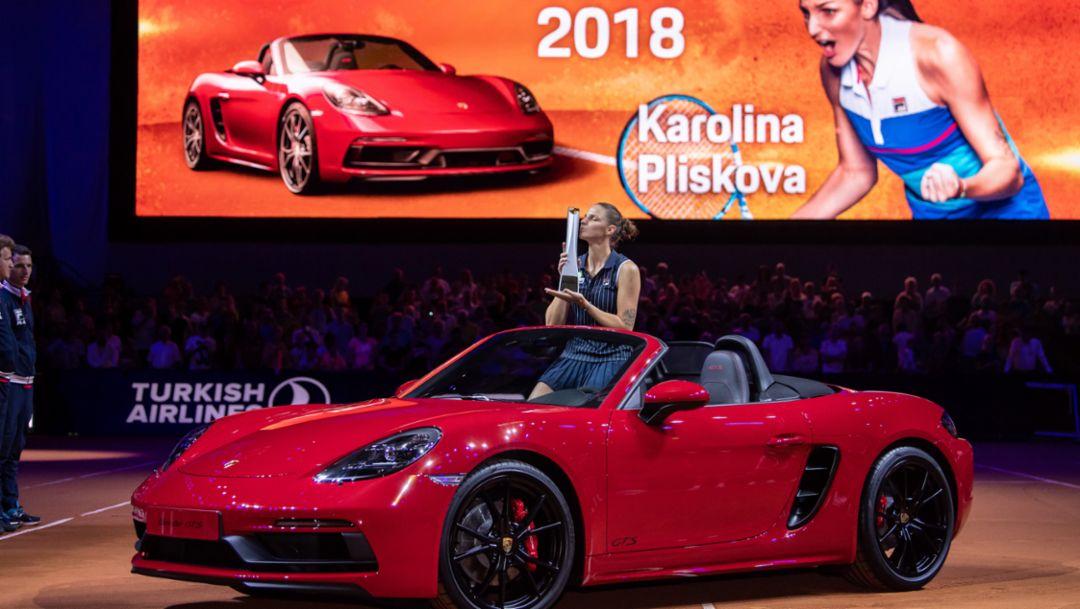 Karolina Pliskova, Porsche Tennis Grand Prix 2018, Final, Stuttgart, 2018, Porsche AG