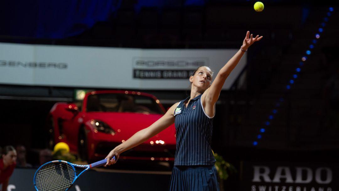 Karolina Pliskova, Porsche Tennis Grand Prix, Day 4, Stuttgart, 2018, Porsche AG