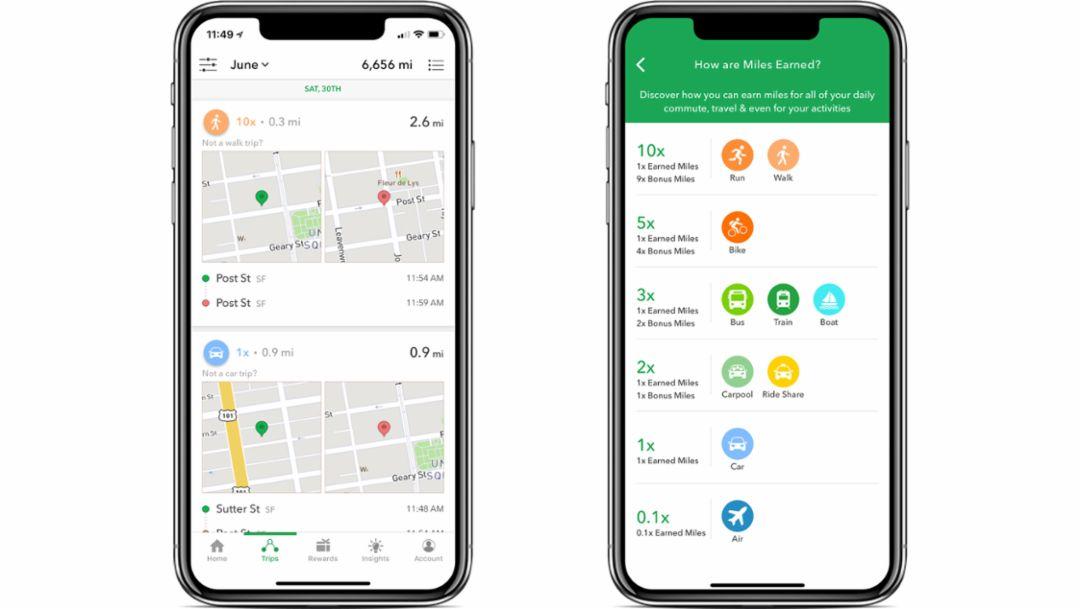 Miles app, 2018, Porsche AG