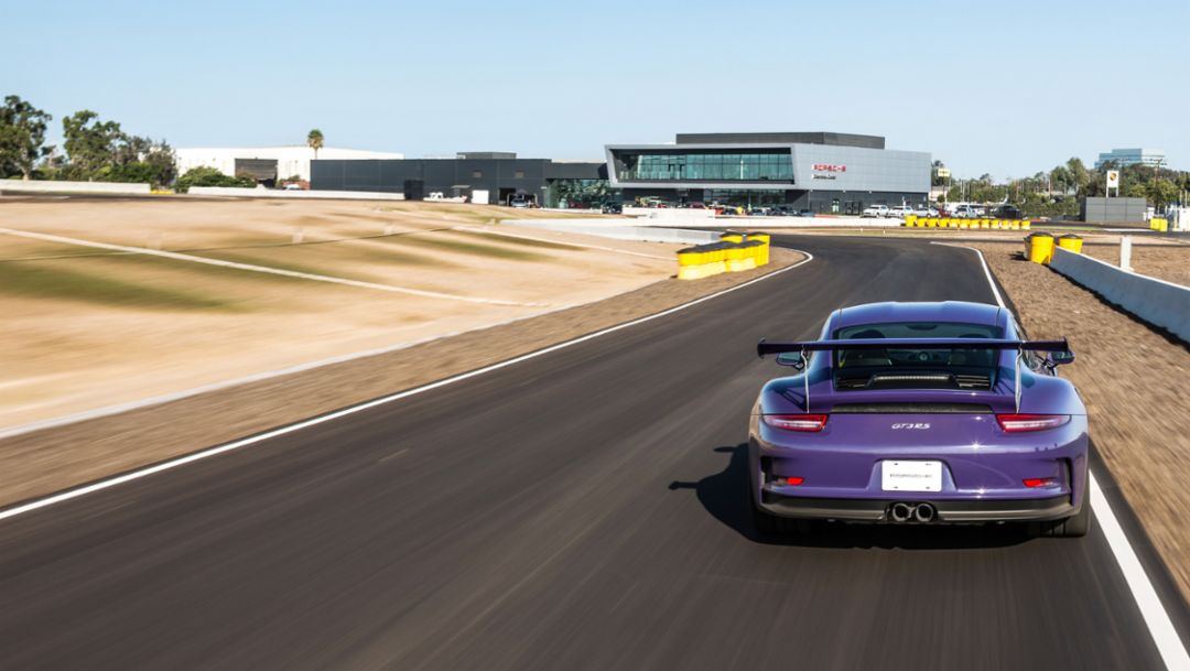 911 GT3 RS, Porsche Experience Center, Los Angeles, 2016, Porsche AG