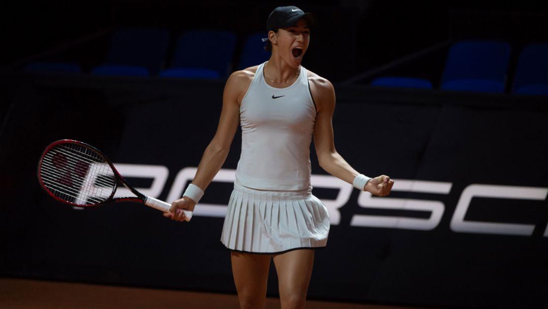 Caroline Garcia, Porsche Tennis Grand Prix, Day 4, Stuttgart, 2018, Porsche AG