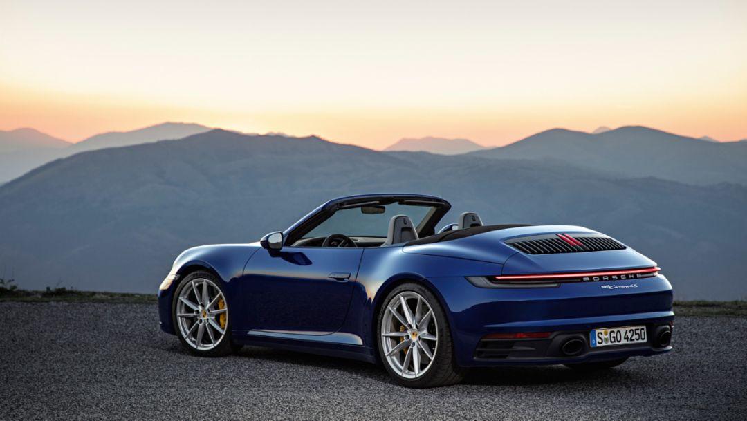 Startklar für Open-Air-Saison – das neue 911 Cabriolet