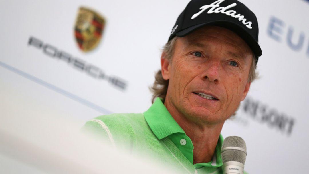 Bernhard Langer, golfer, 2015, Porsche AG