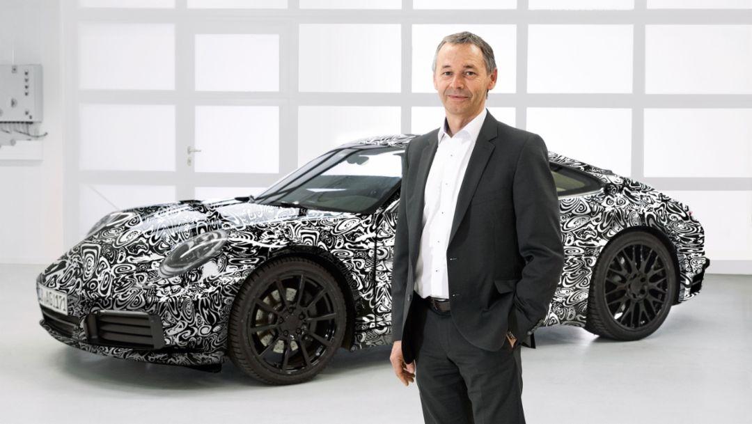 August Achleitner, 911, 2018, Porsche AG